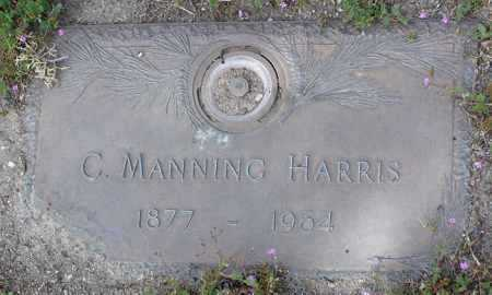 HARRIS, CLARENCE MANNING - Yavapai County, Arizona | CLARENCE MANNING HARRIS - Arizona Gravestone Photos