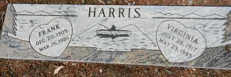 HARRIS, FRANK DANBY - Yavapai County, Arizona | FRANK DANBY HARRIS - Arizona Gravestone Photos