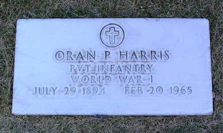 HARRIS, ORAN  P. - Yavapai County, Arizona | ORAN  P. HARRIS - Arizona Gravestone Photos