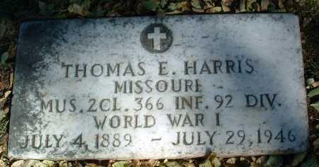 HARRIS, THOMAS E. - Yavapai County, Arizona | THOMAS E. HARRIS - Arizona Gravestone Photos