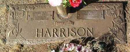 HARRISON, MINNIE MAE - Yavapai County, Arizona | MINNIE MAE HARRISON - Arizona Gravestone Photos