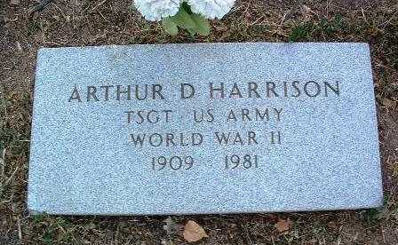 HARRISON, ARTHUR D. - Yavapai County, Arizona | ARTHUR D. HARRISON - Arizona Gravestone Photos