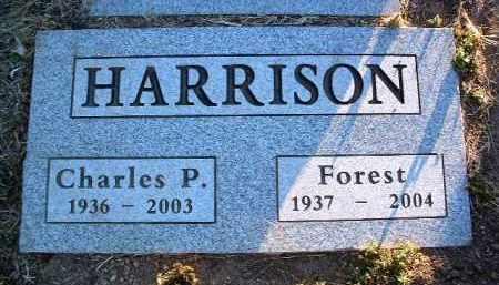 HARRISON, FOREST I. - Yavapai County, Arizona | FOREST I. HARRISON - Arizona Gravestone Photos