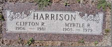 SCOTT HARRISON, MYRTLE R. - Yavapai County, Arizona | MYRTLE R. SCOTT HARRISON - Arizona Gravestone Photos