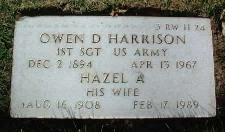 HARRISON, OWEN DAVID - Yavapai County, Arizona | OWEN DAVID HARRISON - Arizona Gravestone Photos