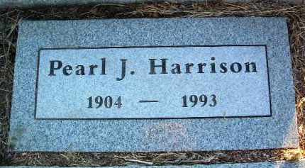 HARRISON, PEARL EVELYN J. - Yavapai County, Arizona | PEARL EVELYN J. HARRISON - Arizona Gravestone Photos