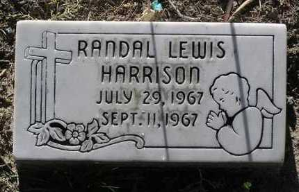 HARRISON, RANDAL LEWIS - Yavapai County, Arizona | RANDAL LEWIS HARRISON - Arizona Gravestone Photos