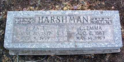 HARSHMAN, CLEMMONTINE (CLEMMA) - Yavapai County, Arizona | CLEMMONTINE (CLEMMA) HARSHMAN - Arizona Gravestone Photos