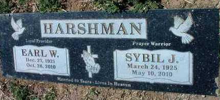HARSHMAN, EARL WILLIAM - Yavapai County, Arizona | EARL WILLIAM HARSHMAN - Arizona Gravestone Photos