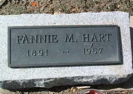 HART, FANNIE M. - Yavapai County, Arizona   FANNIE M. HART - Arizona Gravestone Photos