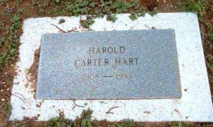 HART, HAROLD CARTER - Yavapai County, Arizona | HAROLD CARTER HART - Arizona Gravestone Photos