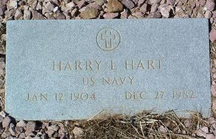HART, HARRY L. - Yavapai County, Arizona | HARRY L. HART - Arizona Gravestone Photos