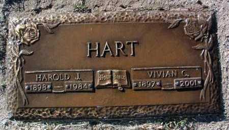 HART, VIVIAN C. - Yavapai County, Arizona | VIVIAN C. HART - Arizona Gravestone Photos
