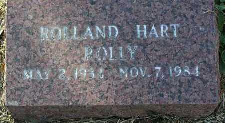 HART, ROLLAND JAMES (ROLLEY) - Yavapai County, Arizona | ROLLAND JAMES (ROLLEY) HART - Arizona Gravestone Photos