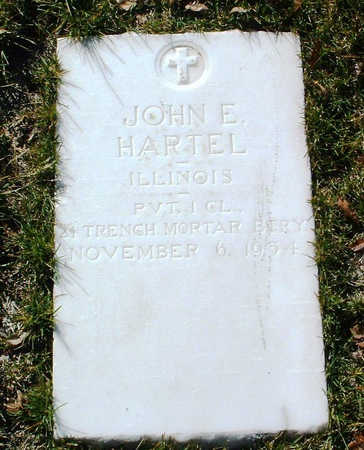 HARTEL, JOHN E. - Yavapai County, Arizona | JOHN E. HARTEL - Arizona Gravestone Photos