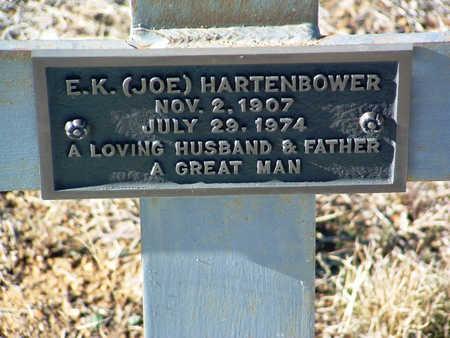 HARTENBOWER, E. K. (JOE) - Yavapai County, Arizona | E. K. (JOE) HARTENBOWER - Arizona Gravestone Photos