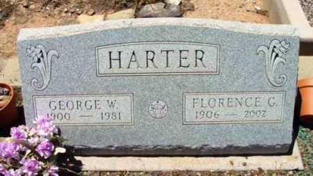 HARTER, FLORENCE G. - Yavapai County, Arizona | FLORENCE G. HARTER - Arizona Gravestone Photos