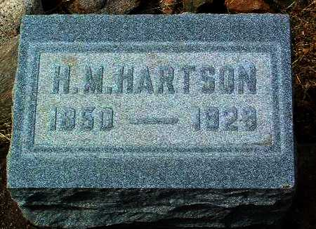 HARTSON, HARWOOD M. - Yavapai County, Arizona | HARWOOD M. HARTSON - Arizona Gravestone Photos