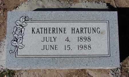HARTUNG, KATHERINE GALE - Yavapai County, Arizona | KATHERINE GALE HARTUNG - Arizona Gravestone Photos