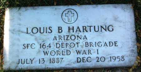 HARTUNG, LOUIS BARNEY - Yavapai County, Arizona | LOUIS BARNEY HARTUNG - Arizona Gravestone Photos