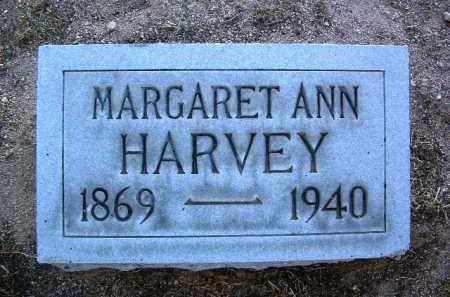 HARVEY, MARGARET ANN - Yavapai County, Arizona | MARGARET ANN HARVEY - Arizona Gravestone Photos