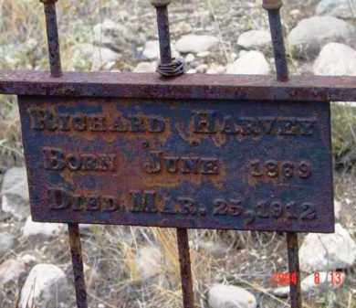 HARVEY, RICHARD - Yavapai County, Arizona | RICHARD HARVEY - Arizona Gravestone Photos