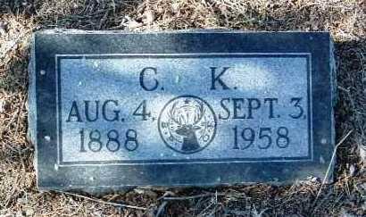 HASH, CECIL KING - Yavapai County, Arizona | CECIL KING HASH - Arizona Gravestone Photos