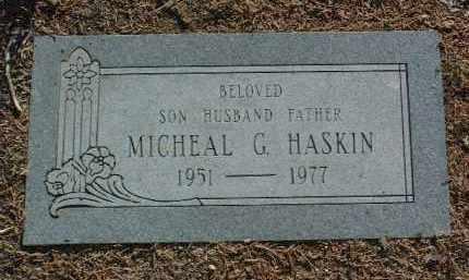 HASKIN, MICHEAL G. - Yavapai County, Arizona   MICHEAL G. HASKIN - Arizona Gravestone Photos