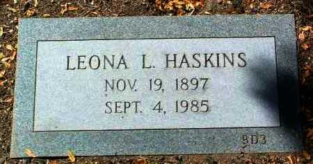 SHIREY HASKINS, LEONA L. - Yavapai County, Arizona | LEONA L. SHIREY HASKINS - Arizona Gravestone Photos