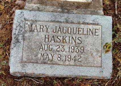 HASKINS, MARY JACQUELINE - Yavapai County, Arizona   MARY JACQUELINE HASKINS - Arizona Gravestone Photos