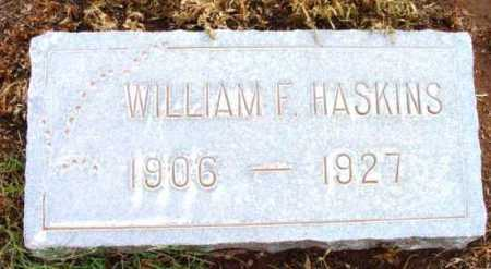 HASKINS, WILLIAM FRANCIS - Yavapai County, Arizona | WILLIAM FRANCIS HASKINS - Arizona Gravestone Photos