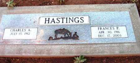 HASTINGS, FRANCES PEARL - Yavapai County, Arizona | FRANCES PEARL HASTINGS - Arizona Gravestone Photos