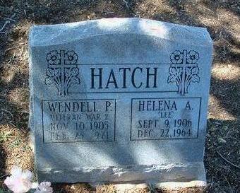 ALDRED HATCH, HELENA - Yavapai County, Arizona   HELENA ALDRED HATCH - Arizona Gravestone Photos
