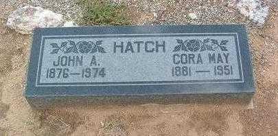 MERRELL HATCH, CORA MAY - Yavapai County, Arizona | CORA MAY MERRELL HATCH - Arizona Gravestone Photos