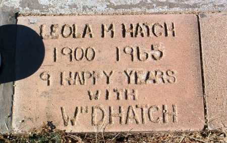 HATCH, LEOLA MAURENE - Yavapai County, Arizona | LEOLA MAURENE HATCH - Arizona Gravestone Photos