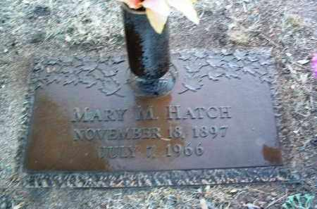 HATCH, MARY M. - Yavapai County, Arizona | MARY M. HATCH - Arizona Gravestone Photos
