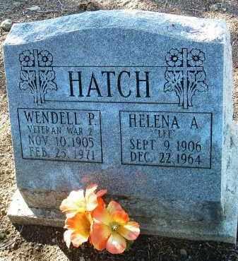 HATCH, WENDELL PHILLIPS - Yavapai County, Arizona | WENDELL PHILLIPS HATCH - Arizona Gravestone Photos