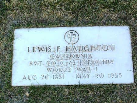 HAUGHTON, LEWIS  F. - Yavapai County, Arizona | LEWIS  F. HAUGHTON - Arizona Gravestone Photos