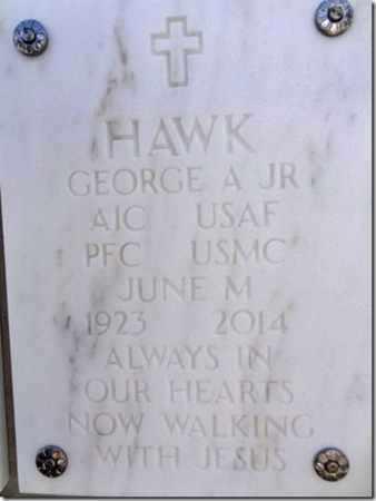 HAWK, JUNE MARIE - Yavapai County, Arizona   JUNE MARIE HAWK - Arizona Gravestone Photos