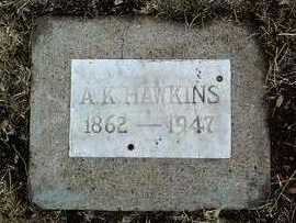 HAWKINS, ALFRED KINDER - Yavapai County, Arizona | ALFRED KINDER HAWKINS - Arizona Gravestone Photos