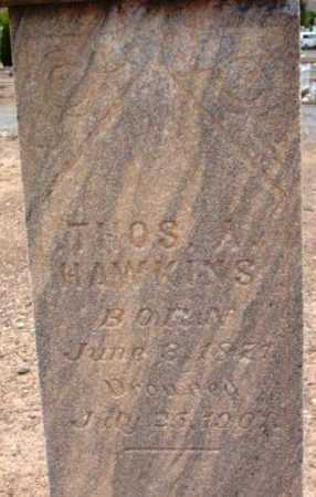 HAWKINS, THOMAS A. - Yavapai County, Arizona   THOMAS A. HAWKINS - Arizona Gravestone Photos