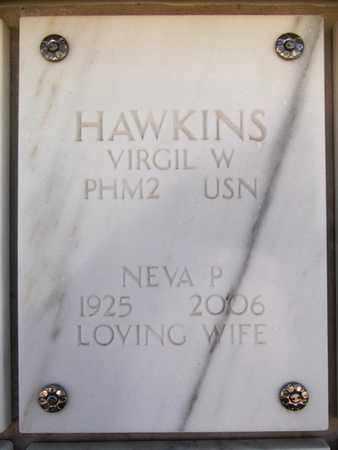 HAWKINS, VIRGIL W. - Yavapai County, Arizona | VIRGIL W. HAWKINS - Arizona Gravestone Photos