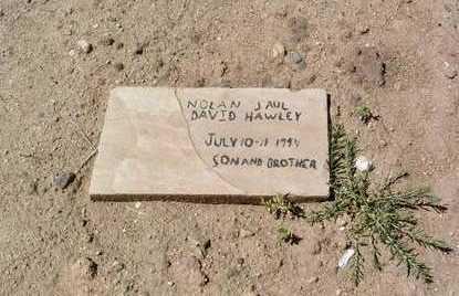 HAWLEY, NOLAN PAUL DAVID - Yavapai County, Arizona   NOLAN PAUL DAVID HAWLEY - Arizona Gravestone Photos