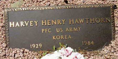 HAWTHORN, HARVEY HENRY - Yavapai County, Arizona | HARVEY HENRY HAWTHORN - Arizona Gravestone Photos