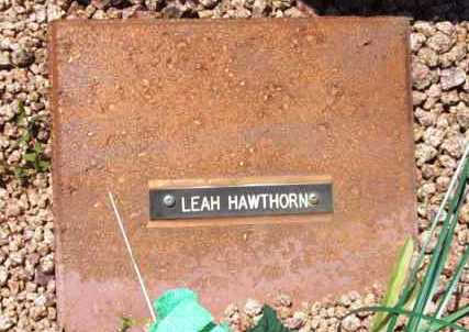 HAWTHORN, LEAH L. - Yavapai County, Arizona | LEAH L. HAWTHORN - Arizona Gravestone Photos
