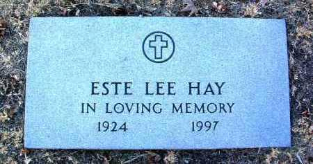 HAY, ESTE LEE - Yavapai County, Arizona | ESTE LEE HAY - Arizona Gravestone Photos