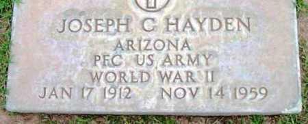 HAYDEN, JOSEPH C. - Yavapai County, Arizona   JOSEPH C. HAYDEN - Arizona Gravestone Photos