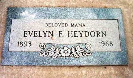 HEYDORN, EVELYN FLORENCE - Yavapai County, Arizona | EVELYN FLORENCE HEYDORN - Arizona Gravestone Photos