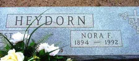 HAYDORN, NORA F. - Yavapai County, Arizona   NORA F. HAYDORN - Arizona Gravestone Photos