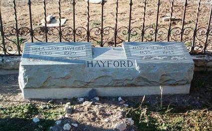 SAXE HAYFORD, VIOLA - Yavapai County, Arizona   VIOLA SAXE HAYFORD - Arizona Gravestone Photos